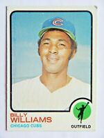 Billy Williams #200 Topps 1973 Baseball Card (Chicago Cubs) VG