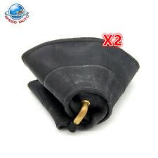 (2) TIRE INNER TUBES 4.00x6 4.00-6 4.00 6 TR13 Bent Valve Stem Heavy Duty