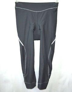 4ucycling Women 3/4 Bicycle Padded Pants Size Medium
