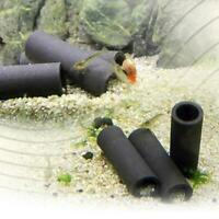 Aquarium Tank Tube Breeding Hiding Cave Shelter For Fish Live Spawn H3D6