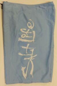 Salt Life SLX-QD Mens Size 36 Blue Skull Polyester Board Shorts - NWOT