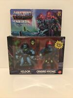 Masters Of The Universe Origins MOTU Keldor Kronis Rise Of Evil 2 Pack BRAND NEW