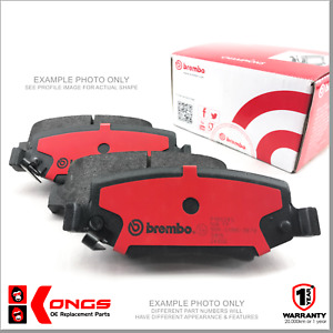Rear Brembo Disc Brake Pad for Peugeot 206 CC 2D 1.6 16v 2.0 S16 Convertible