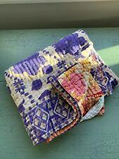 New listing Kantha Baby Blanket