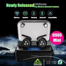 SYLLABLE D900 Mini Headset True Wireless Bluetooth Earphone Earset Earbuds New