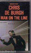 Chris De Burgh - Man On The Line - 1984 SEALED Canadian Cassette NEW A&M