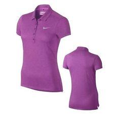 NIKE GOLF Women's Precision Polo Shirt Heather Purple 873192 556  Womens Medium