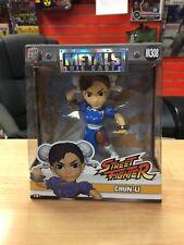 """Metals Die Cast Chun-Li M308 Street Fighter Capcom 4"""" Figure"""