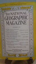 National Geographic Magazine Nat Geo October 1945(NG22)