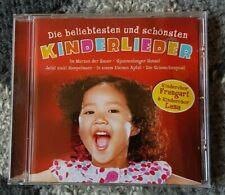 Die beliebtesten und schönsten Kinderlieder - CD