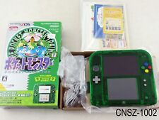 Japanese Nintendo Pokemon Green 2DS Console Clear System Japan Import US Seller