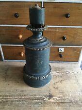 Vintage Antique Old Brass Lamp Base