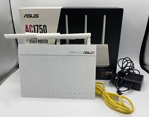 ASUS RT-AC66W AC1750 Dual-Band Wifi Router  Tested & Working With Box
