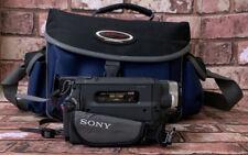 Sony (CCD-TRV208E) HANDYCAM VIDEOCAMERA VISIONE CON BORSA + CARICABATTERIE ORIGINALI
