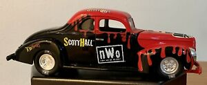Racing Champions Scott Hall NWO Streetrods 1:24 Car WCW Fall Brawl War Games