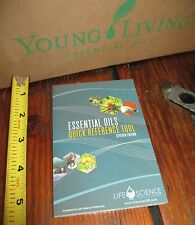tiny lil' Young Living MINI BOOK using Essential Oils USES quick reference guide