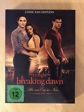 TWILIGHT – Biss zum Ende der Nacht Teil 1 Breaking Dawn 2-Disc Fan Edition 2-DVD