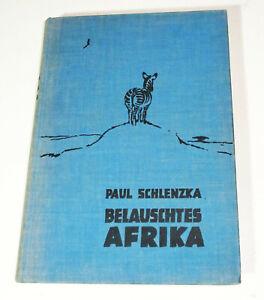 Paul Schlenzka - Belauschtes Afrkia 1934 Moritz Pathé  (B6