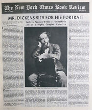 CHARLES DICKENS GEORHE ORWELL HESKETH PEARSON 1949 May 15 NY Times Book Review