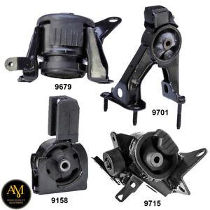 Engine Motor & Manual Trans. Mount 4Pcs Set for Scion TC 05-10 2.4L