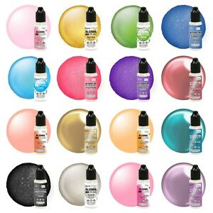 Couture Creations Alcohol Ink 12ml (80 colors with Mixative / Pearl / Glitter)