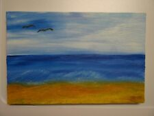 Acryl Gemälde HANDGEMALT Acrylbild 20*30cm Ostseestrand