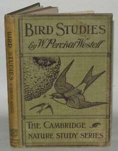 Bird Studies In Twenty Four Lessons - W. Percival Westell - HB 1914 Illustrated.