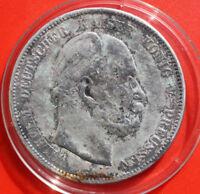 Deutschland- Preussen 5 Mark 1874-A Silber #F 2344 KM# 503 Natural Antique
