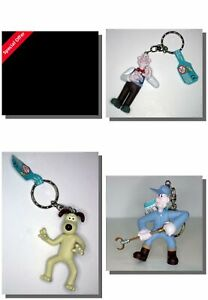 Wallace & Gromit Keyrings X3 Special Offer,