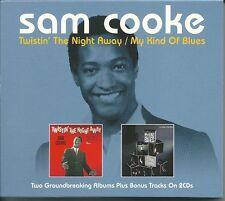 SAM COOKE TWISTIN' THE NIGHT AWAY / MY KIND OF BLUES - 2 CD BOX SET