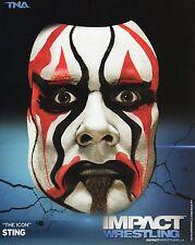 """Sting foto della WCW WWE TNA Wrestling 8x10"""" impatto PROMO Legend"""