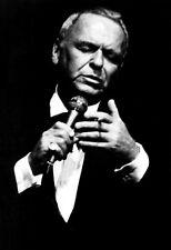 Frank Sinatra Poster, Singing & Smoking, The Rat Pack, Old Blue Eyes