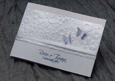partecipazioni nozze inviti matrimonio tema farfalle realizzate artigianalmente