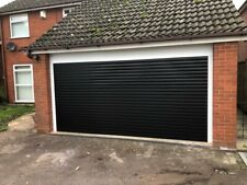 ELECTRIC ROLLER GARAGE DOORS 77MM SLATS MADE TO MEASURE - UP TO 2700MM WIDE