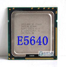 Paire Intel Xeon E5640 2.66 Ghz 4 Coeurs, HyperThreading