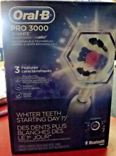 Oral-B Pro 3000 3D White Electric Rechargeable Toothbrush Powered BRAND NEW