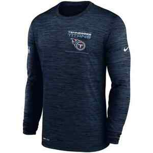 New 2021 Tennessee Titans Nike Sideline Velocity Legend Performance Long T-Shirt