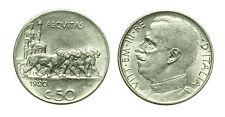 pcc1565_1) Vittorio Emanuele III (1900-1943) - 50 Centesimi Leoni 1920 L
