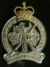 Australian Army Legal Corps Anodised Hat Badge Post 1960