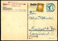GERMANY Local Card 1929 VF
