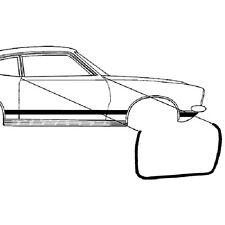New 1970-1977 Ford Maverick Door Weatherstrip