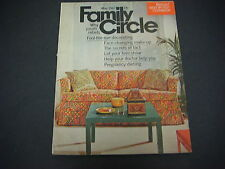 Family Circle Magazine May 1967 Best-By-Test Cookbook Why Youths Rebel  M1728