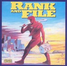 FREE US SHIP. on ANY 2 CDs! NEW CD Rank & File: Rank & File