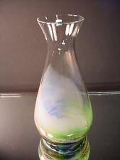 Early Steven Maslach Studio Art Glass Scarce Volcano Wine Carafe Volcanic Colors
