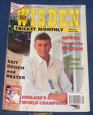 WISDEN CRICKET MONTHLY SEPTEMBER 1993 - GOWER FAREWELLS BOTHAM
