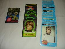 Star Wars 1977 Series 1 Complete Trading Card Set WITH Stickers AND Wrapper