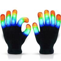 Led Gloves Cool Gift Light Up Kids Toys Boys Girls for Age 5 6 7 8 9 10
