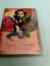 """DVD """"TODOS LOS COLORES DE LA OSCURIDAD"""" SERGIO MARTINO EDWIGE FENECH GEORGE HILT"""