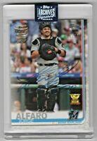 2020 Topps Archives Signature Series Jorge Alfaro Miami Marlins 45/53
