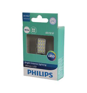 PHILIPS Ultinon White LED 6000K Multi Fit T10 Festoon BA9S Interior Light 12V